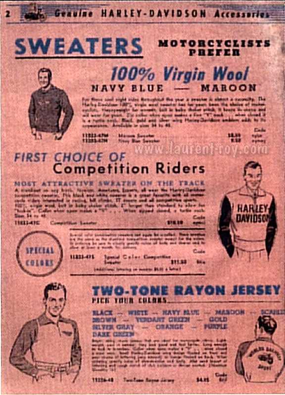 Harley Davidson Genuine Parts Catalog