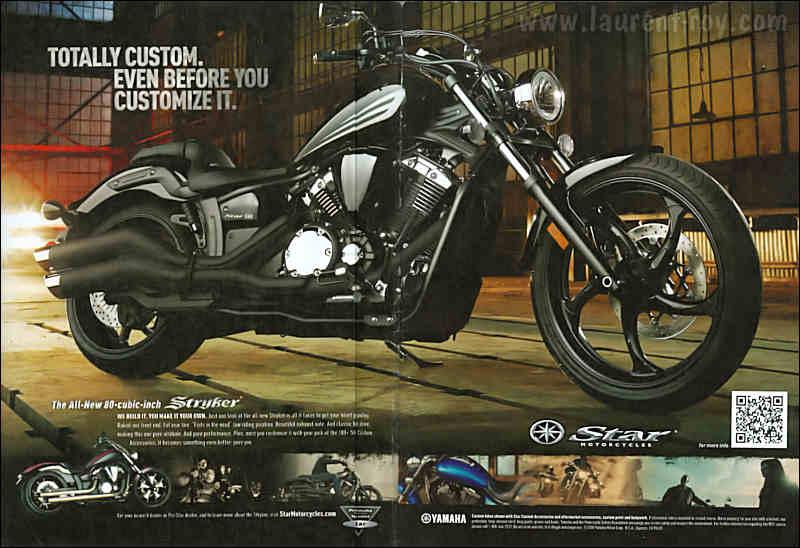 Yamaha Styker