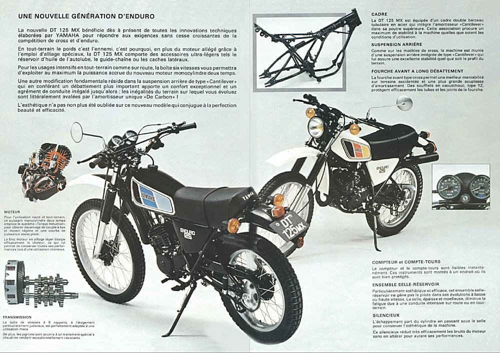 Www Laurent Roy Com Mes Motos Yamaha 125dtmx